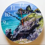 Kynance Cove Clock Front Small